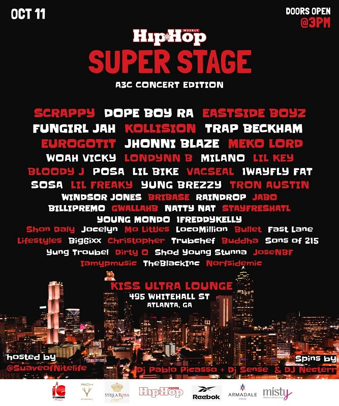 TODAY Hip Hop Weekly's Celebrity Superstage – A3C Concert Edition