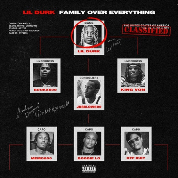Lil Durk 'Family Over Everything'