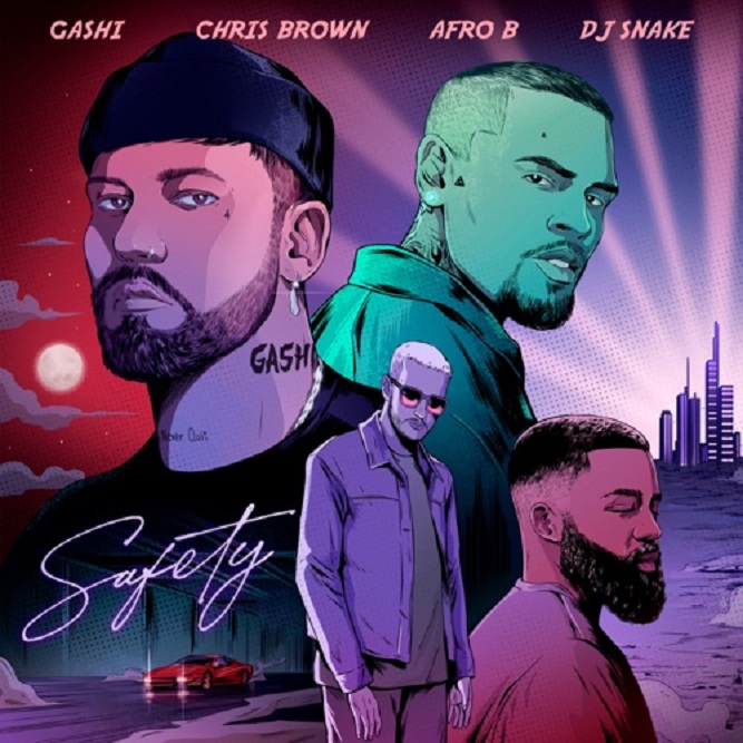 Gashi's Release Feat Chris Brown, Afro B & DJ Snake