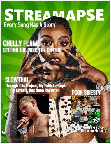 Chelly Flame Our March Cover Star